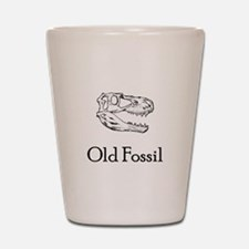 Old Fossil Shot Glass