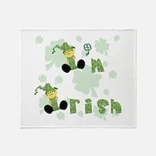 I'm Irish Throw Blanket