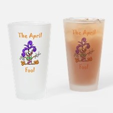 The April Fool Drinking Glass