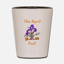 The April Fool Shot Glass