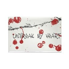 """Unbreak My Heart"" Rectangle Magnet"