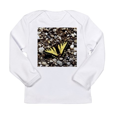 Western Tiger Swallowtail (4) Long Sleeve Infant T