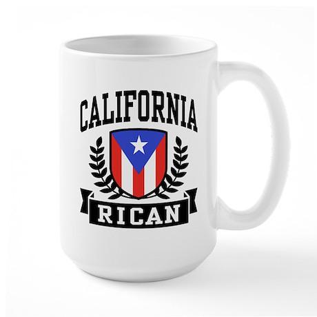 California Rican Large Mug