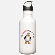 The penguin made me do it!! Water Bottle