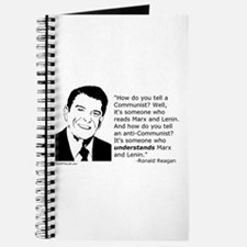 Reagan: How do you tell a Communist? Journal