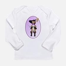 Cute Boots Long Sleeve Infant T-Shirt