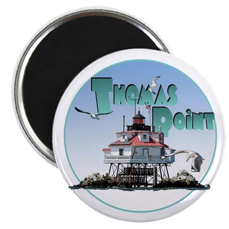 The Thomas Point Lighthouse Magnet