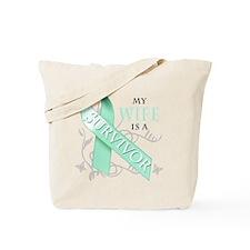 My Wife is a Survivor Tote Bag