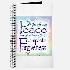 ACIM-You Who Want Peace Journal