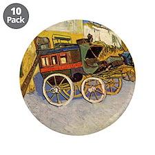"""Vincent Van Gogh 3.5"""" Button (10 pack)"""