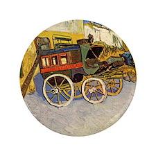 """Vincent Van Gogh 3.5"""" Button"""