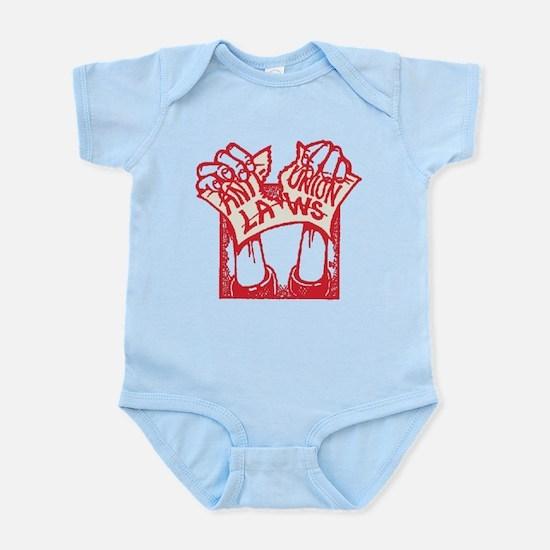 Red Pro Union Infant Bodysuit