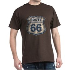 Route 66 Bluetandist T-Shirt