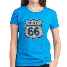 Route 66 Bluetandist Tee