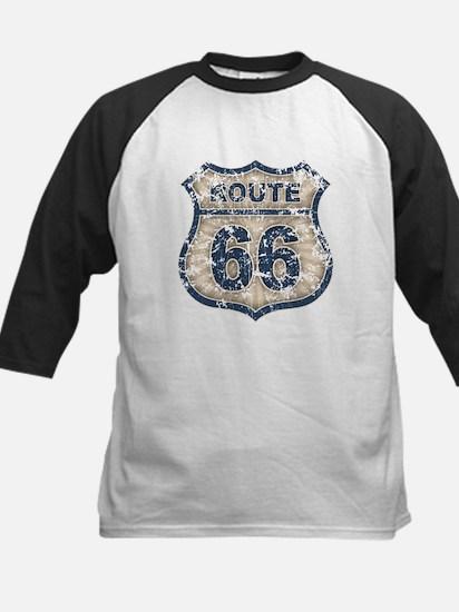 Route 66 Bluetandist Kids Baseball Jersey