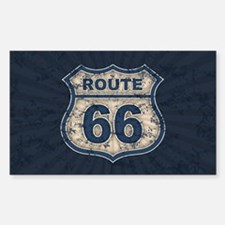 Route 66 Bluetandist Decal