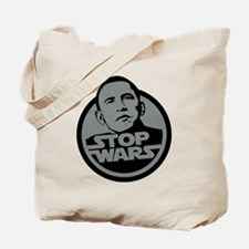 Stop Wars Tote Bag