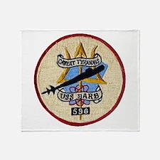 USS BARB Throw Blanket