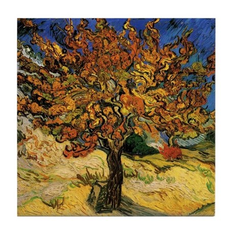 Vincent Van Gogh Tile Coaster