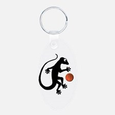 Gecko Basketball Keychains