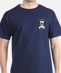 Tricolor Coton IAAM Pocket T-Shirt