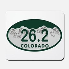 26.2 Colo License Plate Mousepad