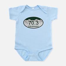 70.3 Colo License Plate Infant Bodysuit