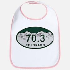 70.3 Colo License Plate Bib