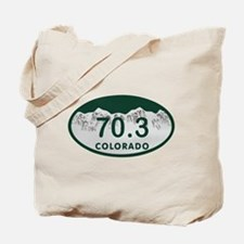 70.3 Colo License Plate Tote Bag