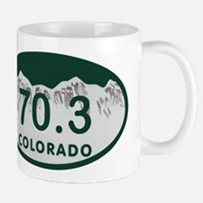 70.3 Colo License Plate Mug