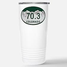 70.3 Colo License Plate Travel Mug
