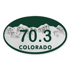 70.3 Colo License Plate Decal