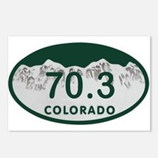 70.3 Colo License Plate Postcards (Package of 8)
