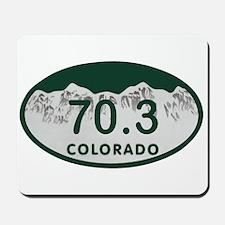 70.3 Colo License Plate Mousepad