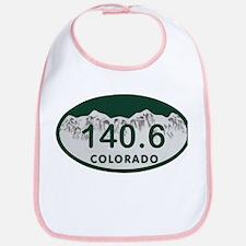 140.6 Colo License Plate Bib