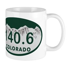 140.6 Colo License Plate Mug