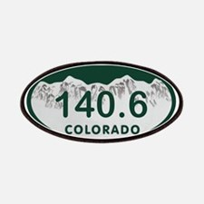 140.6 Colo License Plate Patches