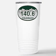 140.6 Colo License Plate Travel Mug