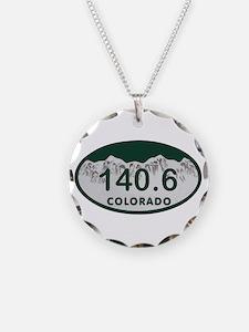 140.6 Colo License Plate Necklace