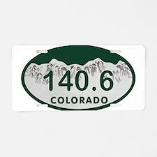 140.6 Colo License Plate Aluminum License Plate