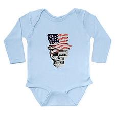 Vintage Anti Vietnam Long Sleeve Infant Bodysuit