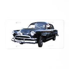 Helaine's Black Henry J Too Aluminum License Plate