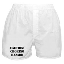 CAUTION: CHOKING HAZARD Boxer Shorts