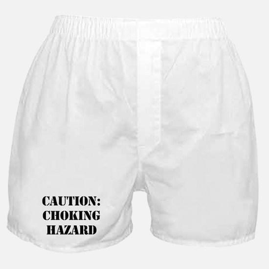 CAUTION: CHOKING HAZARD Boxer Shorts