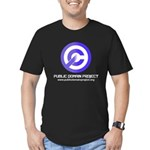 PD Project Men's Fitted T-Shirt (dark)