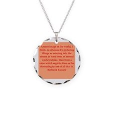 Bertrand Russell quotes Necklace