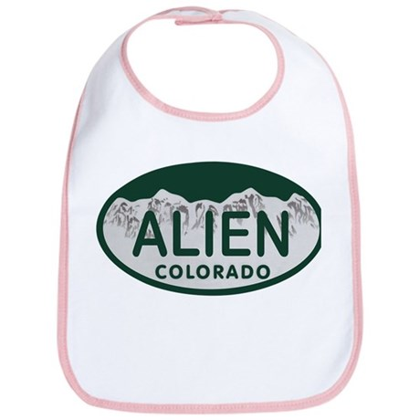 Alien Colo License Plate Bib