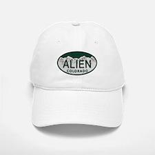 Alien Colo License Plate Baseball Baseball Cap