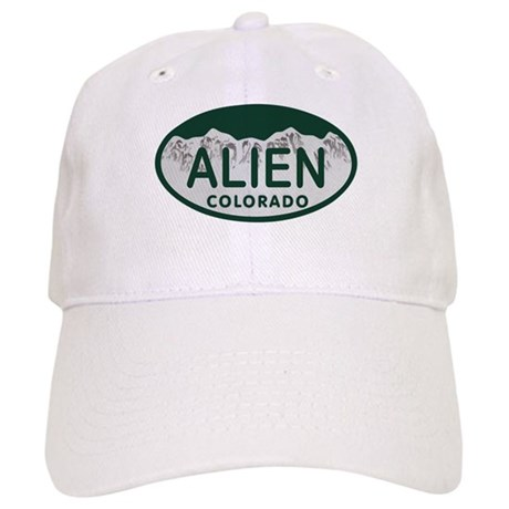 Alien Colo License Plate Cap