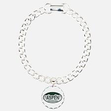 Aspen Colo License Plate Bracelet